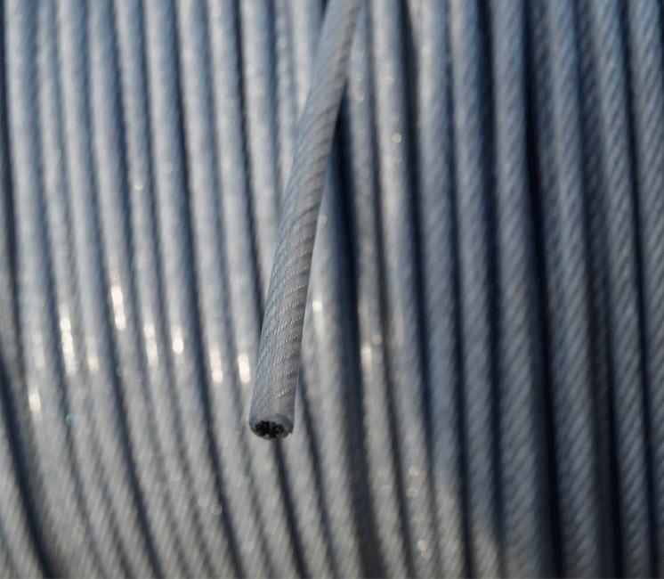 Câble Acier Gainé ( 3/5 mm ) - Au mètre