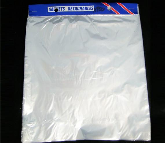 Lot de 1 000 sacs plastiques en liasse détachables