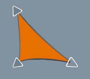 Voile Concave 3 x 3 x 4.2 - Perméable