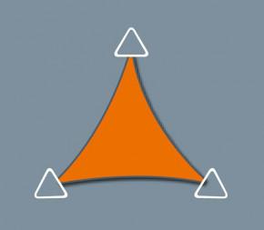 Voile Concave 3.8 x 3.8 X 3.8 - Imperméable