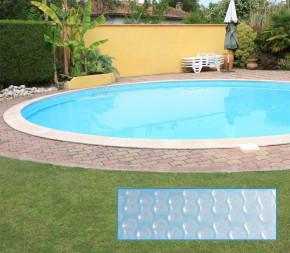 Bâche à bulles piscine ronde hors sol ou enterrée