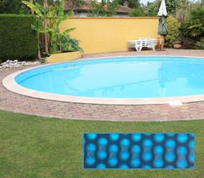 Bâche à bulle pour piscine ronde enterrée ou hors sol