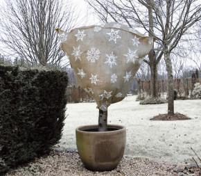 Housse d'hivernage en jute - couleur naturel