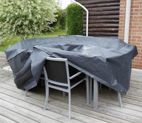 Housse de protection pour table et chaises de jardin