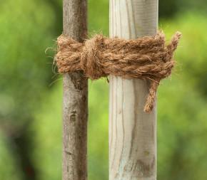 Corde épaisse en fibre de coco bio