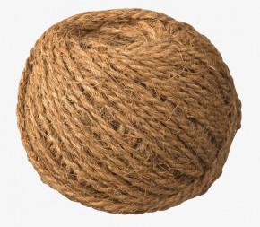 Corde colorée en fibre de coco bio