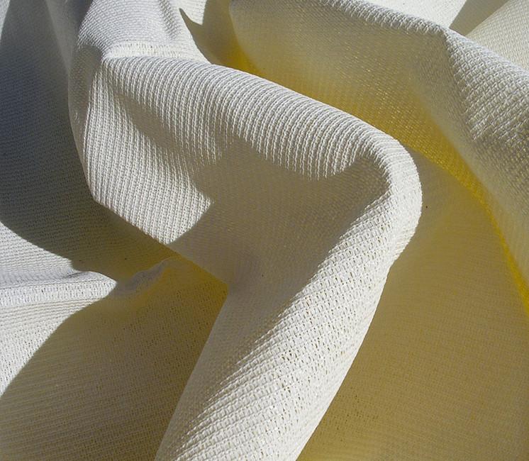 Voile d'ombrage concave 2.8x2.7 m - ivoire