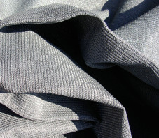 Voile d'ombrage concave - Anthracite