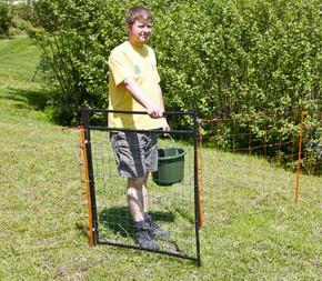 Porte pour clôture de 90cm